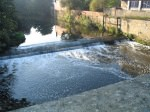 Padiham Gauging Weir. Click for bigger picture.